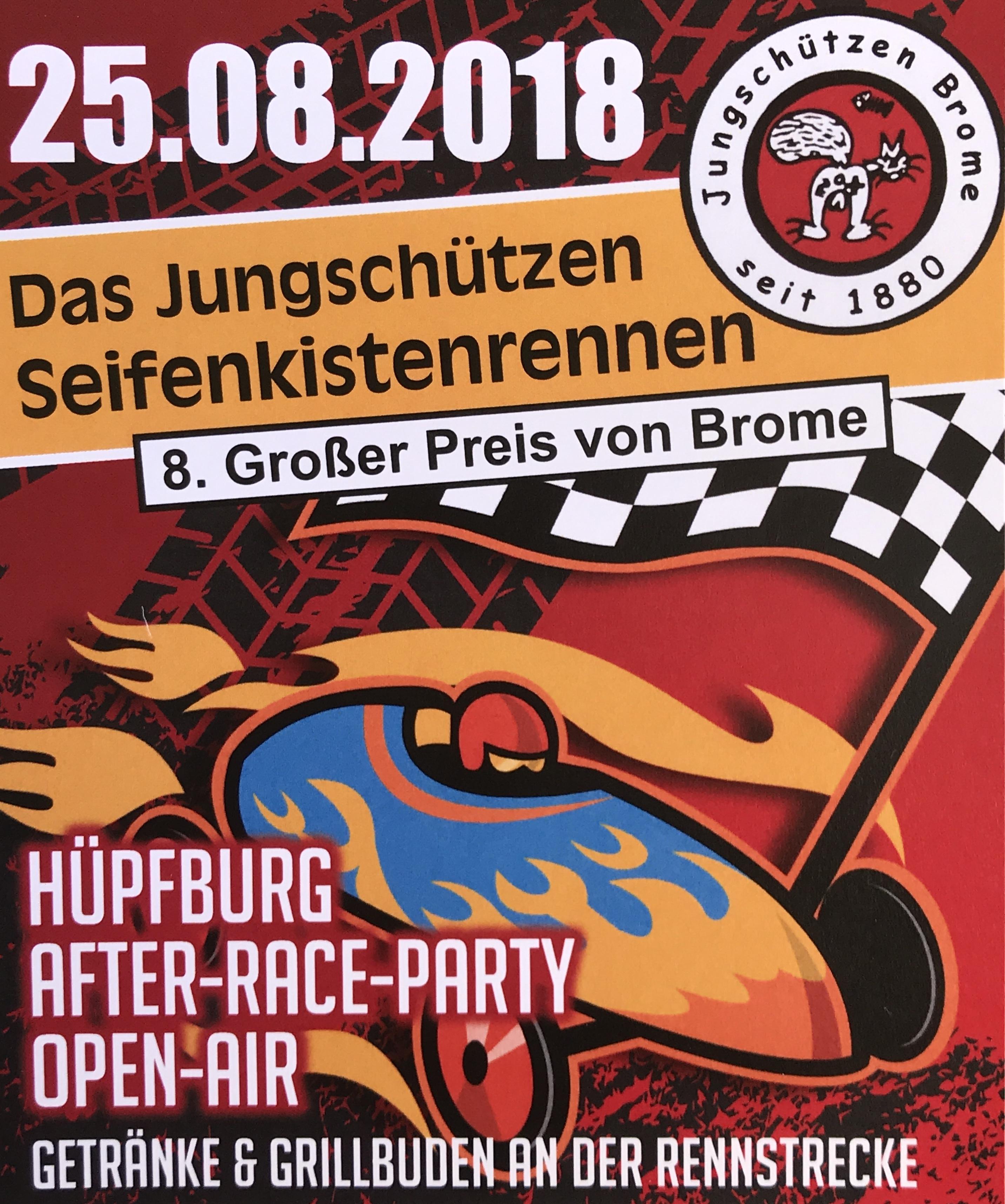 Der 8. Große Preis Von Brome – Seifenkistenrennen 2018